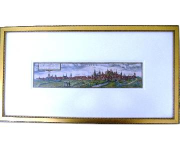 Antique Colored Edging of Nuremberg
