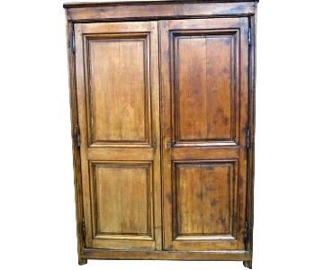 18th C French Country Oak Armoire/Wardrobe
