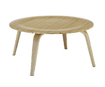 Modway Coffee Table in Walnut