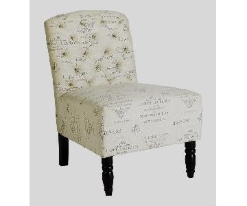 Pier 1 Josette French Slipper Chair