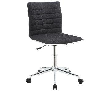 Coaster Office Chairs Office Chair w/ Chrome Base