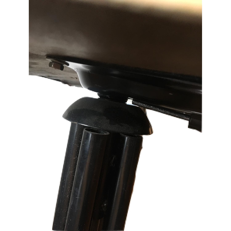 Vintage Industrial Metal Adjustable Swivel Drafting Stool-6
