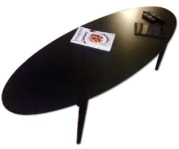 Oval Modern Coffee Table