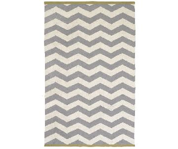 West Elm Chevron ZigZag Area Rug