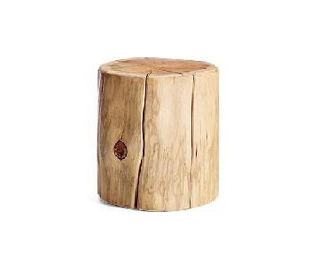 West Elm Tree Stump Side Table