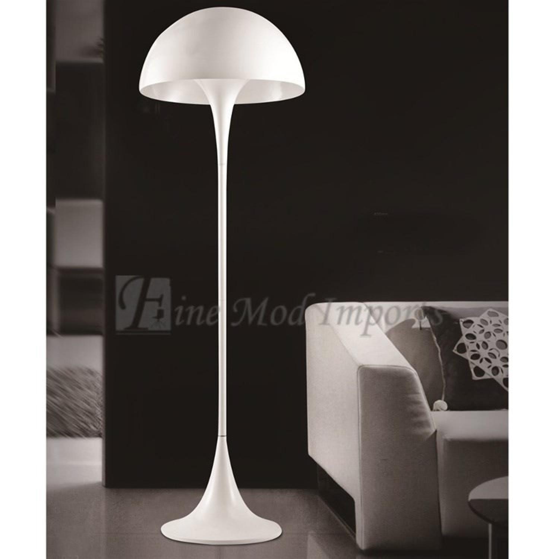 FineMod Panton Floor Lamp in White-0