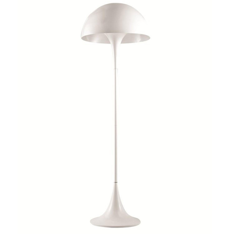 FineMod Panton Floor Lamp in White-1