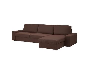 Ikea Kivik 2 Piece Chaise Sectional Sofa