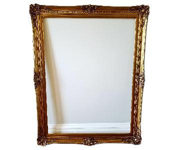 Extra Large Custom Gold Frame