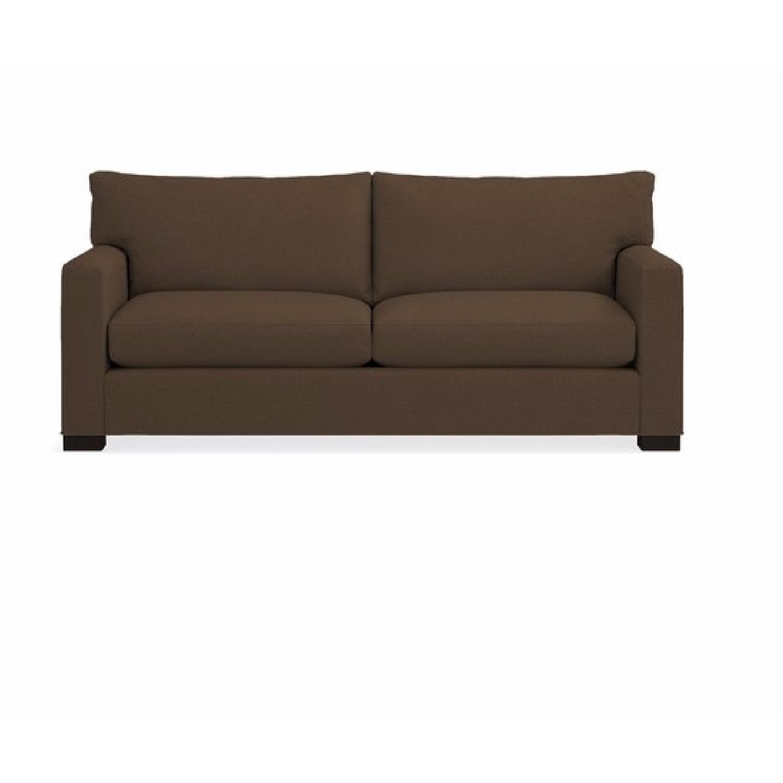 Crate & Barrel Queen Down Filled Sleeper Sofa AptDeco