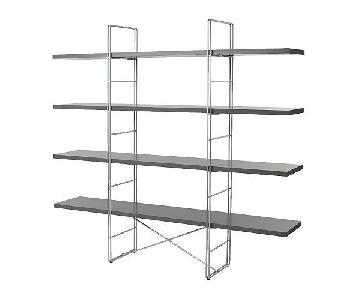 Ikea Enetri Grey Shelving Unit