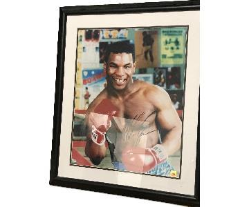 Mike Tyson Autograph Photo