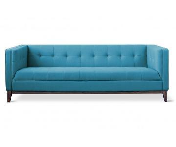 Gus Modern Blue Atwood Sofa