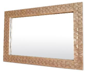 West Elm Parsons Capiz Wall Mirror