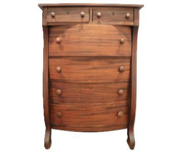 Vintage 1960's Solid Wood Dresser