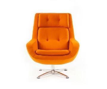 Mid-Century Modern Style Lounge Chair