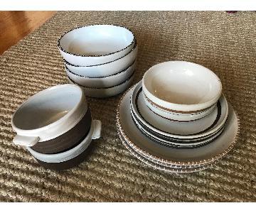 Crate & Barrel Dinnerware Set