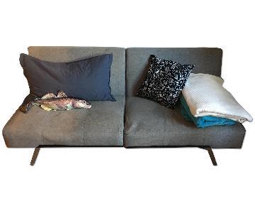Grey Mid Century Sleeper Sofa