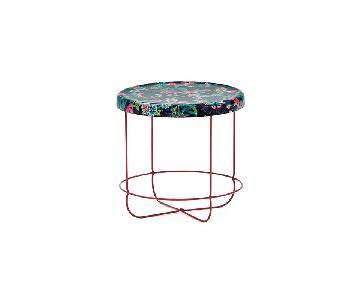 Moroso Ukiyo Low Round Table in Paradise Purple
