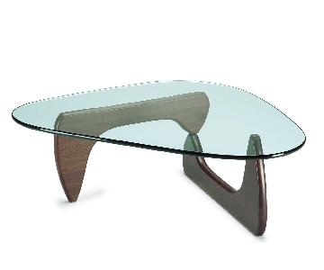 Herman Miller Noguchi Table in Walnut