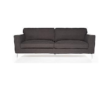 Bed Bath & Beyond Grey Fabric Sofa