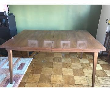 Danish Mid-Century Modern Style Solid Walnut Table