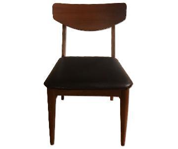 Danish Mid-Century Modern Style Walnut Chair