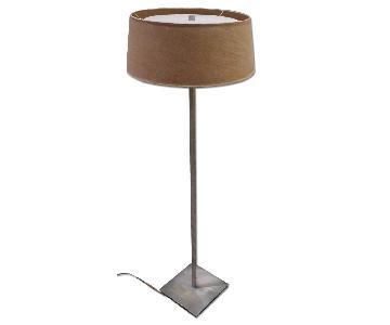 Fritz Hansen Stewart Ross James Satin Steel Floor Lamp
