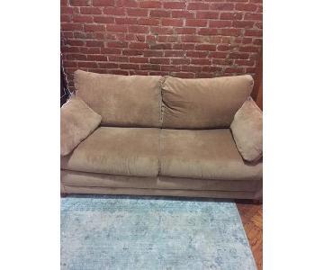 Ashley Furniture Hearne Tan Sleeper Sofa