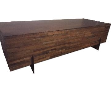 Crate & Barrel Bench/Table