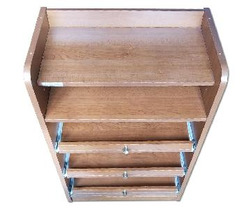 California Linen Shelving Unit