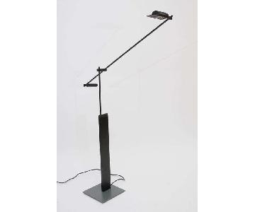 Vintage Italian 90s Logo Floor Lamp