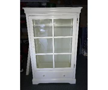 Pottery Barn Kids Armoire in White