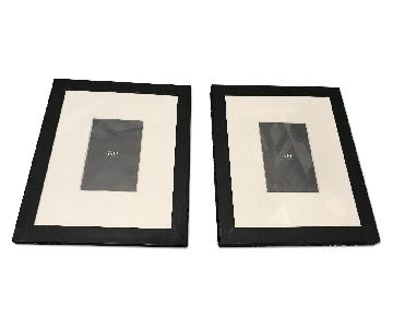 Restoration Hardware Black Metal Wide Gallery Frame