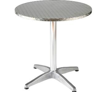 Round Outdoor Metal Table