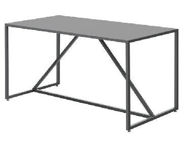 Blu Dot Strut Medium Table in Slate Grey