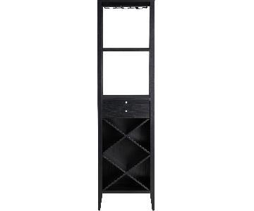 Crate & Barrel Triad Wine Tower