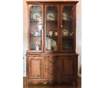 Early American Style China Cabinet