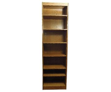 7 Tier Wooden Bookshelf