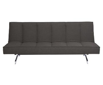 CB2 Flex Gravel Sleeper Sofa