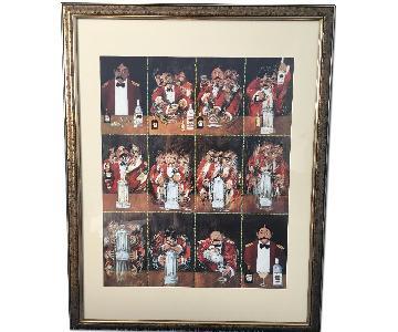 Guy Buffet Custom Framed Artwork