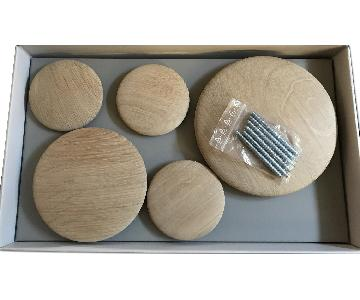 Design Within Reach Wood Coatrack Dots