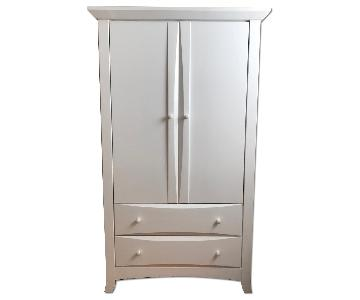 Pottery Barn Kids White Armoire