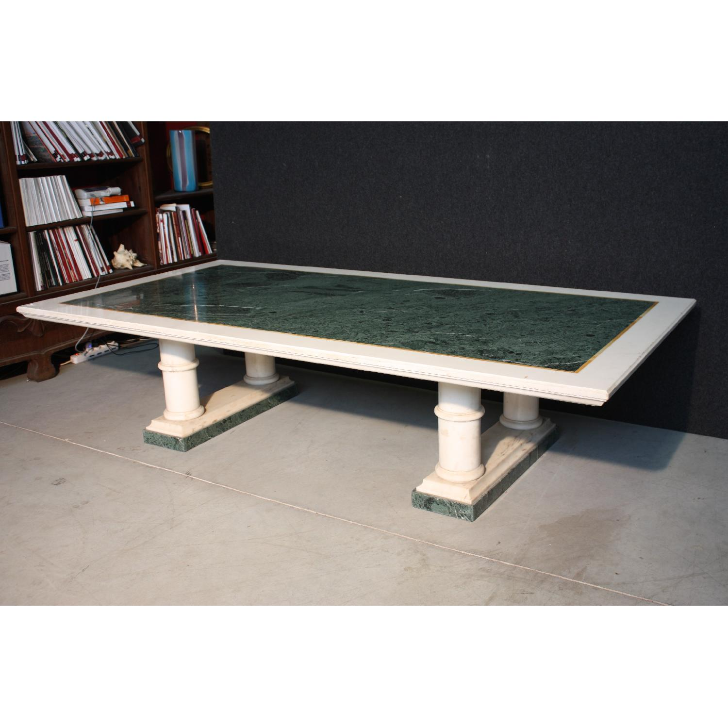 ... 20th Century French Marble Center Table 0 ...