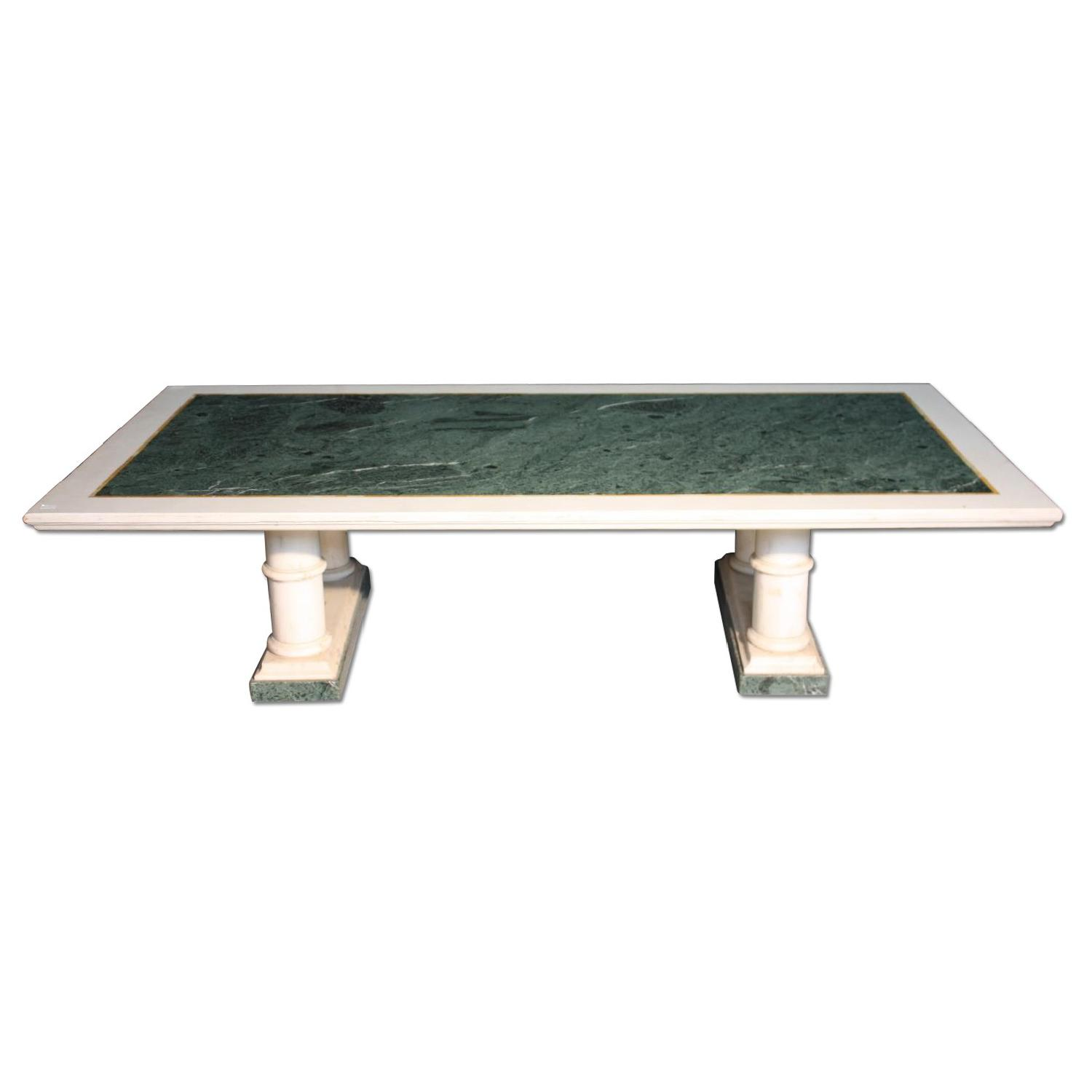 20th Century French Marble Center Table