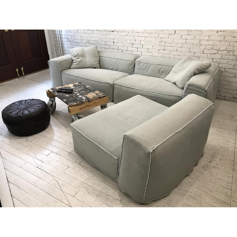 Giovanni Erba Italia Aspettami Sectional Sofa - image-1