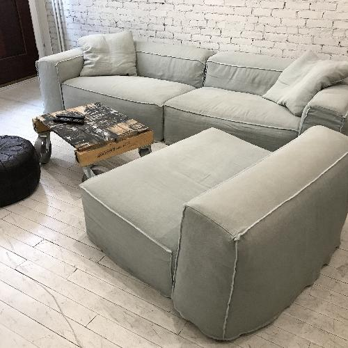 Used Giovanni Erba Italia Aspettami Sectional Sofa for sale on AptDeco