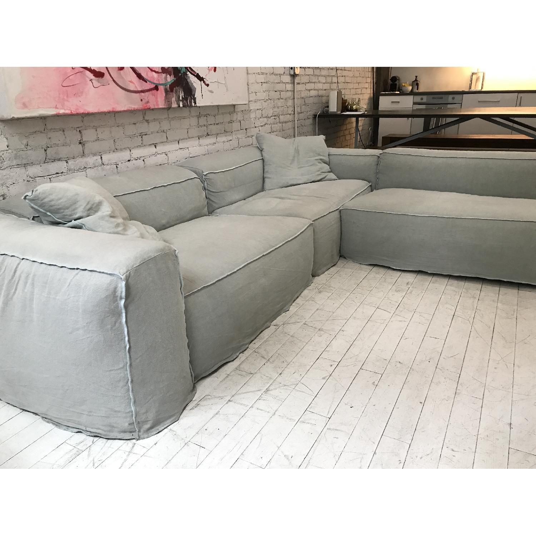 Giovanni Erba Italia Aspettami Sectional Sofa - image-2