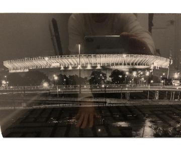 Black & White Yankee Stadium Artwork
