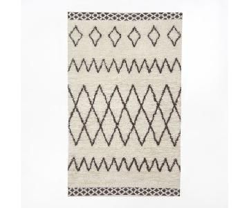 West Elm Kasbah Wool Rug in Ivory